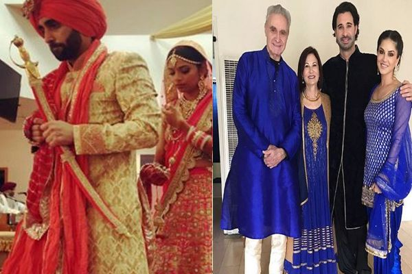 sunny leones deshi appearance at her brothers wedding will blow your mind away